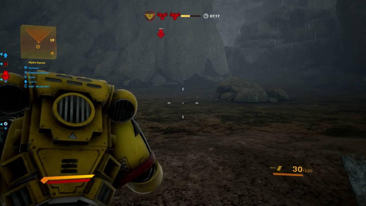 Warhammer 40,000: Eternal Crusade gameplay (online coop) - YouTube