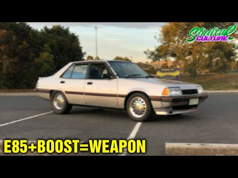 E85 MITSUBISHI SIGMA GSR TURBO - WHAT'S IN THE BARN