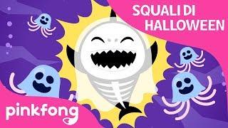 Squali di Halloween | Canzoni di Halloween | PINKFONG Canzoni per Bambini