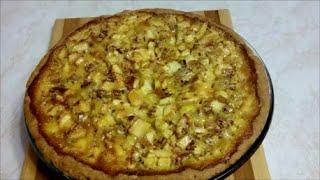 Яблочный пирог.Просто и очень вкусно