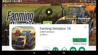 Skąd pobrać #2  farming simulator 2018 za darmo!!!! + Jak pobrać aptoide