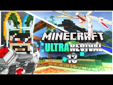 Minecraft: Ultra Modded Revival Ep. 13 - CRASHING X33N