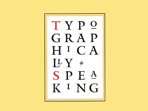 """Verdana, from the film """"Typographically Speaking: A Conversation With Matthew Carter"""""""