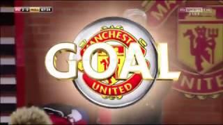 Manchester United vs Hull City 2nd goal 10/01/17 :Marouane Fellaini: HD