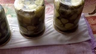 Салат из огурцов с горчицей на зиму.