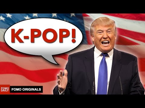 If Donald Trump Tried To Be A K-Pop Star #IfTrumpDidKpop