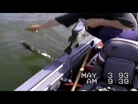 Fishing Largemouth Bass & Smallmouth Bass Mahopac Lake NY Glory Days Year 1993