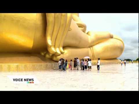 สักการะพระพุทธรูปใหญ่ที่สุดในโลก
