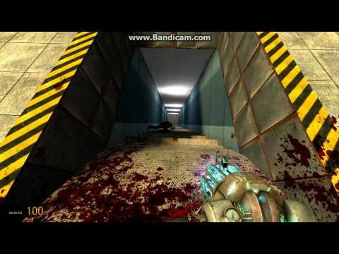 Garrys Mod Dismemberment Mod(gameplay part1/2)