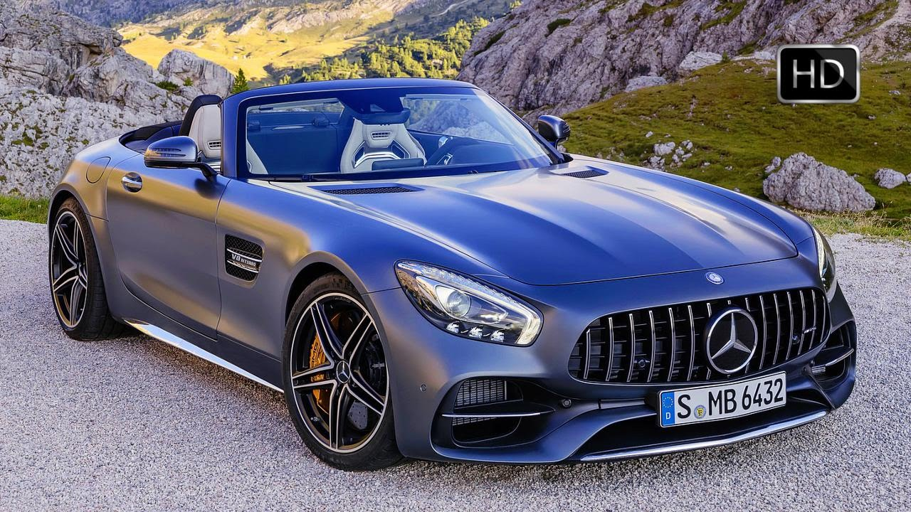 2018 Mercedes Benz Amg Gt C Roadster Exterior Interior Design Hd