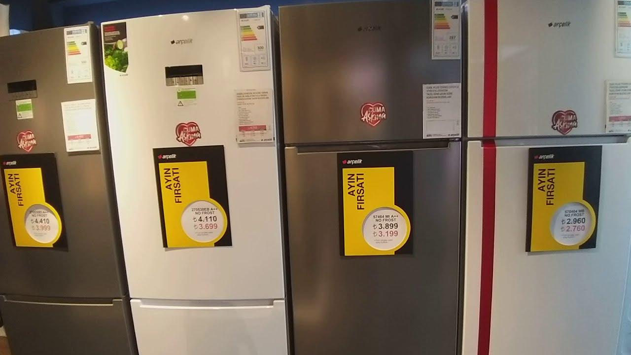 570464 Mı Arçelik Yeni Nofrost Buzdolabı | 465 Litrelik Arçelik Buzdolabı | 70 Cm Enli Standart