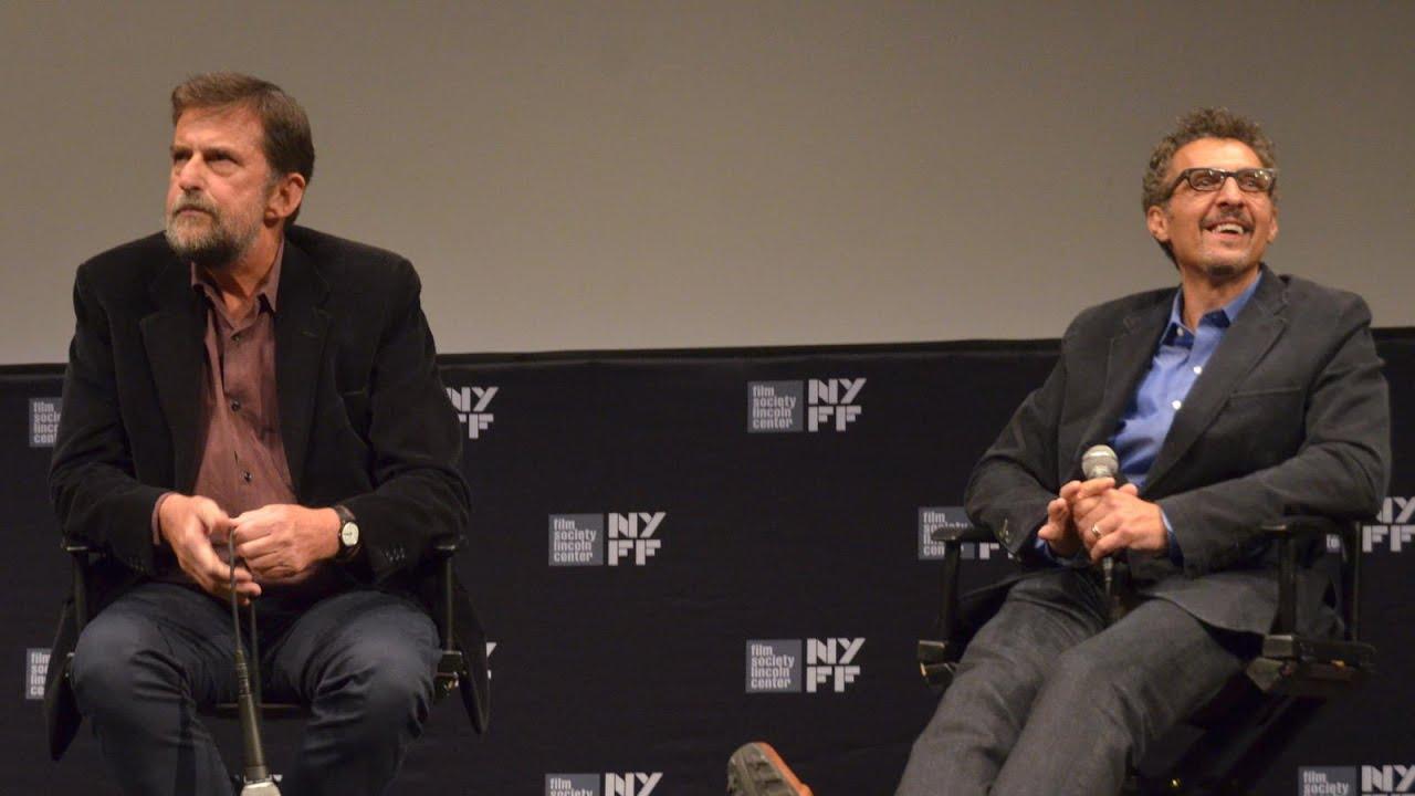 John Turturro & Nanni Moretti | 'Mia Madre' Press Conference | NYFF53