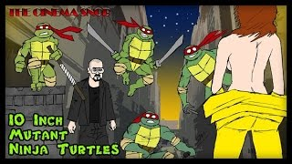 Черепашки ниндзя порно The Cinema Snob TEN INCH MUTANT NINJA TURTLES Rus VO