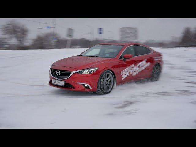 Тест драйв Mazda 6 2.5 192 л.с. Supreme Plus / Разгон 0-100