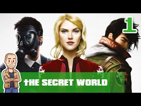 The Secret World Gameplay Part 1 – New Character – Let's Play Playthrough
