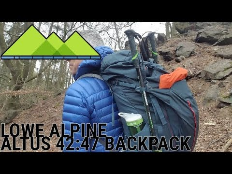 6c61a2829b0 Lowe Alpine Altus 42:47 Backpack Review - YouTube