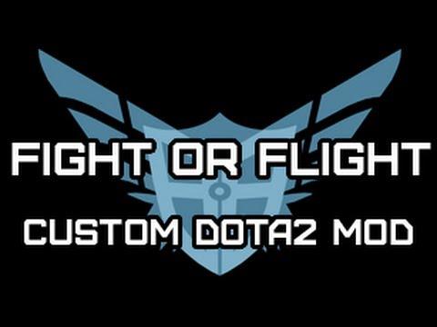 Fight or Flight: Custom DOTA2 Mod Gameplay