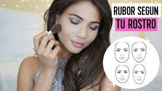 5 formas de aplicar rubor segun tu tipo de rostro | Doralys Britto
