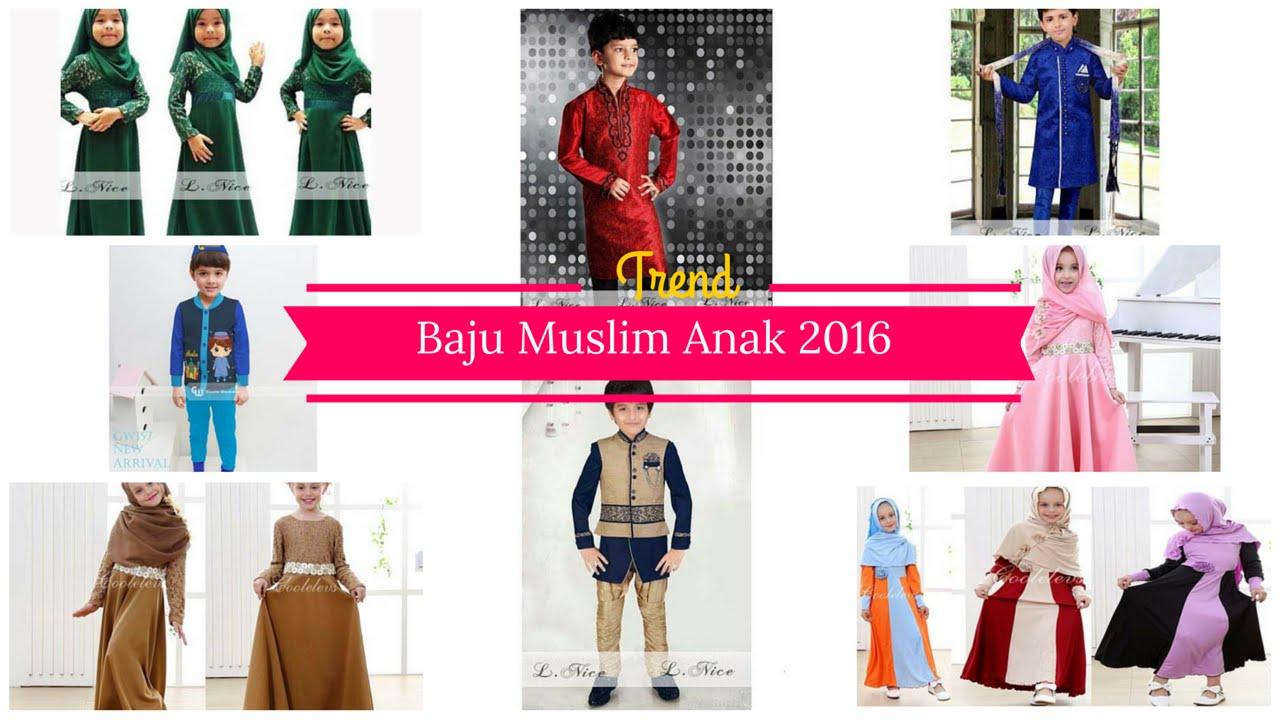Tren Baju Muslim Anak Laki Laki Dan Perempuan Terbaru 2016