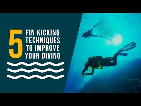 Finning Techniques: How To Master The 5 Basic Scuba Diving Fin Kicks