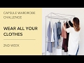 Capsule Wardrobe Challenge: Wear All Your Clothes. 2nd Week.