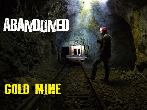 Abandoned Gold Mine. Tyndrum, Scotland (Cononish)