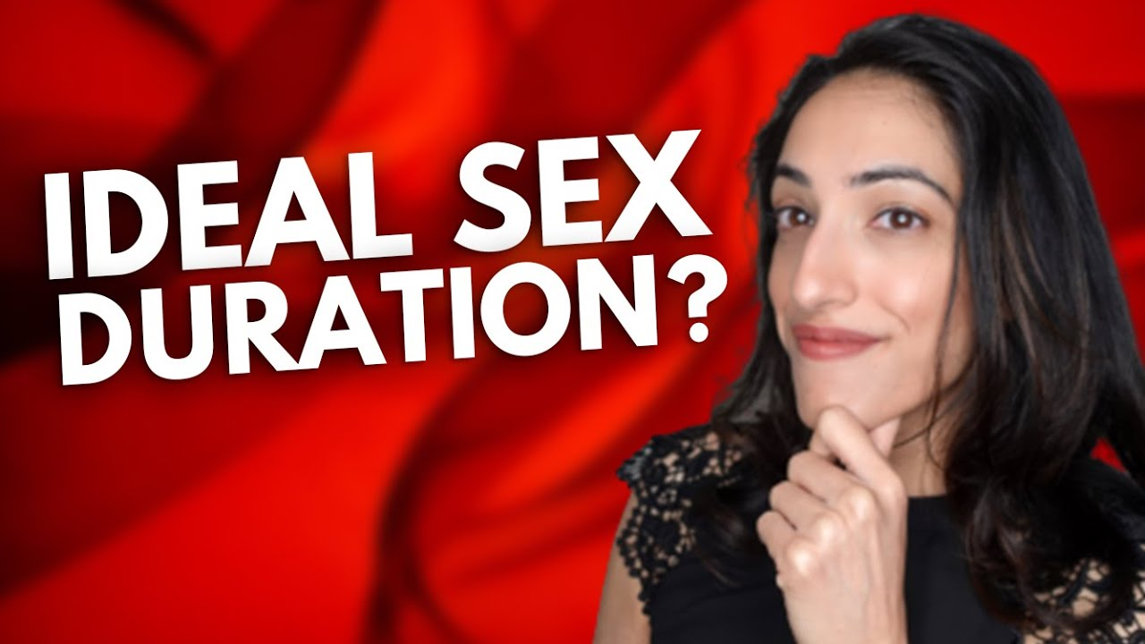 Download How LONG does sex last ON AVERAGE?