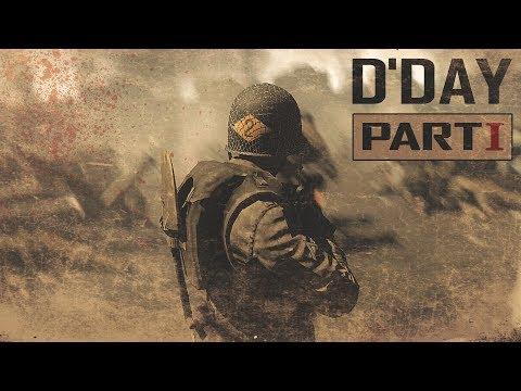 D-DAY Machinima Part 1 (Omaha beach/ArmA III Movie)