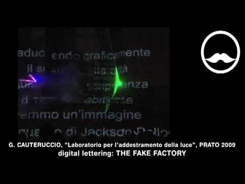 LASER SHOW + VIDEOINSTALLAZIONE: PUBLIC ART, INSTALLAZIONE LUMINOSA.
