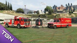 Grand Theft Auto 5 Fire And Rescue - Episode 2