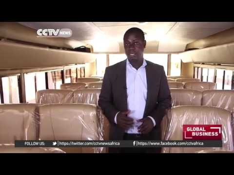 15035 energy Auto CCTV Afrique Uganda building Africa's first solar powered bus