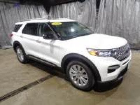 ALL NEW 2020 Star White Metallic Ford Explorer Limited 4x4 AFT6043 Motor Inn Auto Group