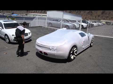 Как доставляется Bugatti Veyron L'Or Style Vitesse новому владельцу