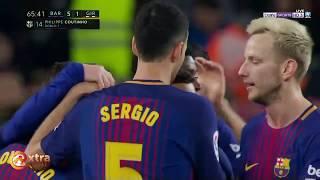 Video barcelona vs girona 6-1 Highlights & Goals (24/02/2018) Full screen HD download MP3, 3GP, MP4, WEBM, AVI, FLV November 2018
