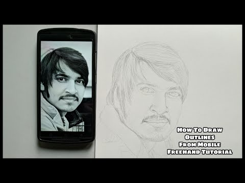 Download How To Draw Freehand Basic Face Layout For Beginners In