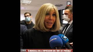"""Brigitte Macron : """"À Marseille, on a l'impression que tout est possible"""""""