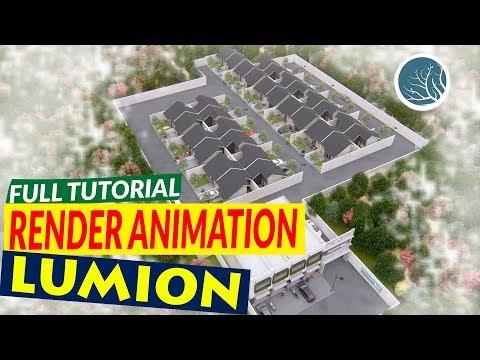ARCHITECTURE RENDERING LUMION | LUMION PRO 8.0 - PENGGAUTAN INDAH RESIDENCE