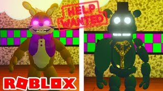 NEW FNAF VR Help Wanted Update in Roblox The Pizzeria RP Remastered
