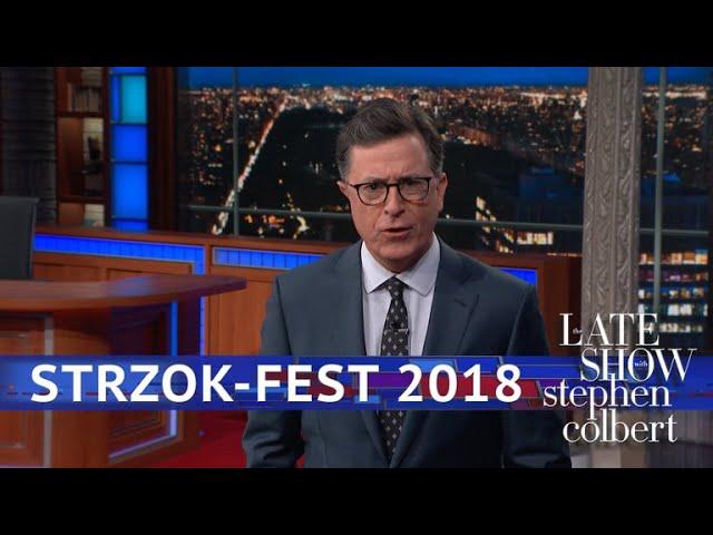Red Hot Congressional Strzok Fest 2018