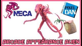 NECA Toys Aliens Arcade Game Alien Warrior Xenomorph Figure Video Review