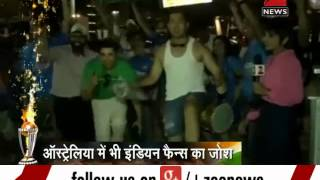 2015 ICC World Cup: Fans celebrate India