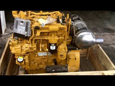 Cat C3.4B new engine for Cat 906H, 907H, 908H