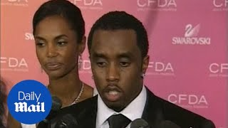 Kim Porter seen with ex-boyfriend P Diddy before breakup
