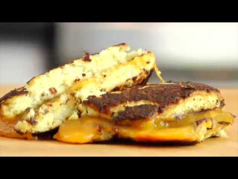 ( Healthy Foods ) Cauliflower Grilled Cheese Recipe   Gluten + Grain Free