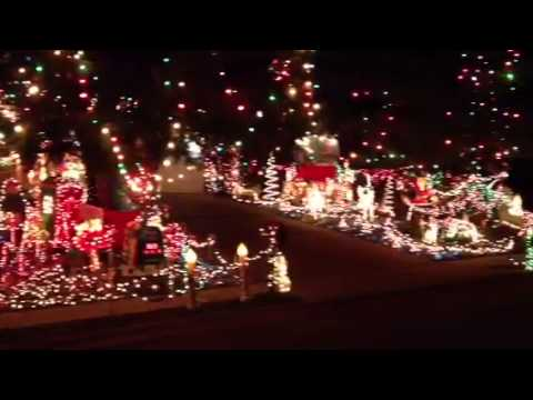 Griswald Christmas lights in St. Charles, Missouri