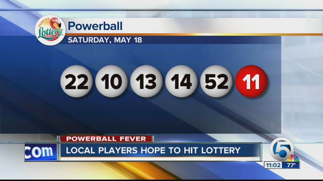 Winning Powerball Numbers For 5 18 2013 Youtube