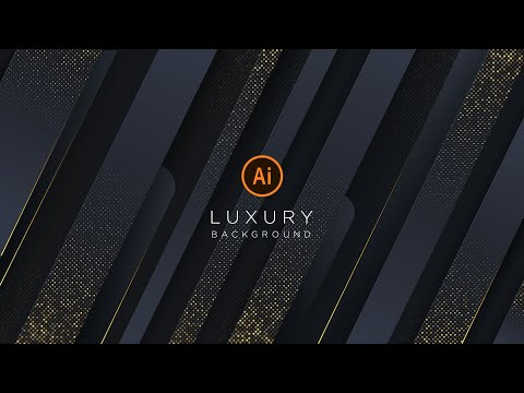 Luxury Background with Glitter Gold | illustrator Tutorial | Part 1 thumbnail