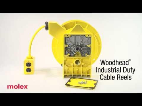 Molex - Woodhead® Industrial – Duty Cable Reels