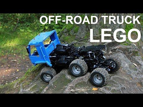 lego rc truck instructions