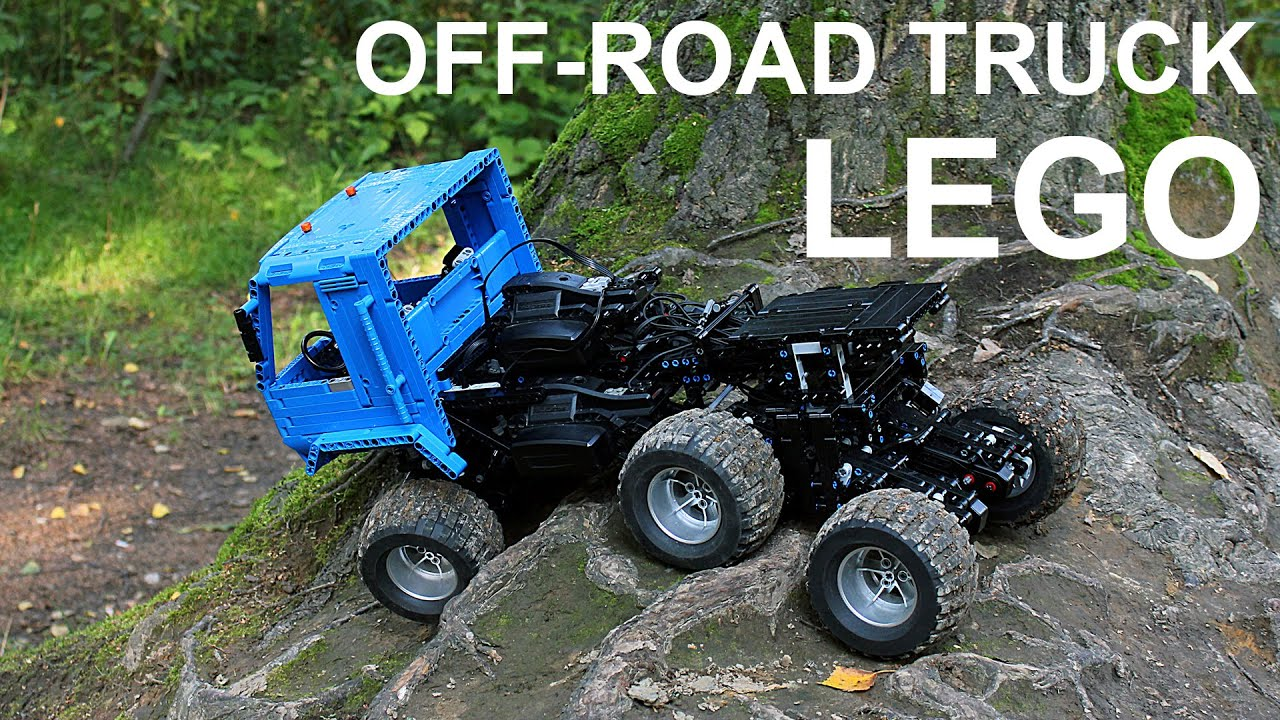 lego technic off road truck 6x6 youtube. Black Bedroom Furniture Sets. Home Design Ideas